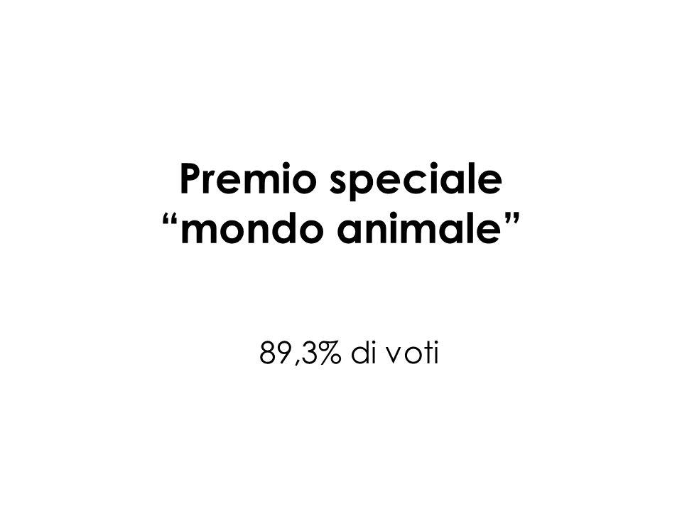 Premio speciale mondo animale