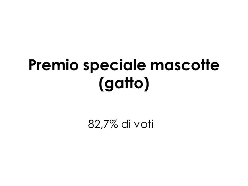 Premio speciale mascotte (gatto)