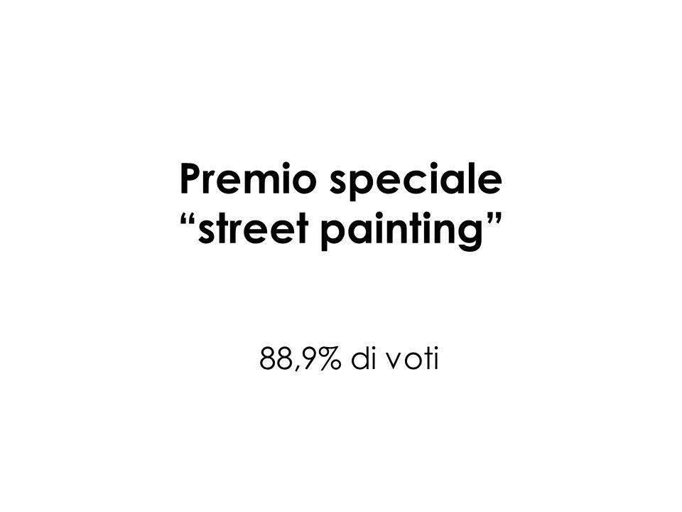 Premio speciale street painting