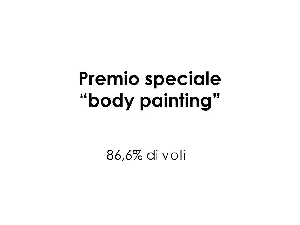 Premio speciale body painting