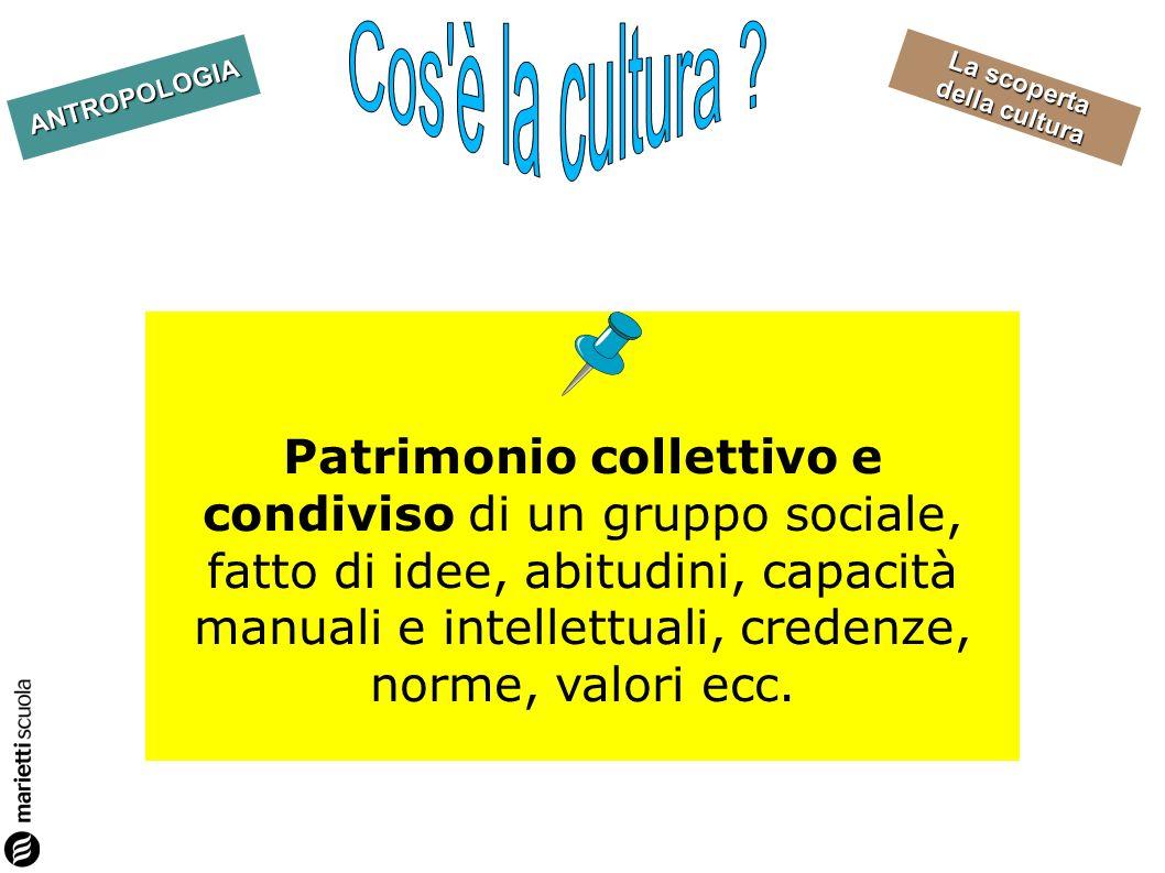 Cos è la cultura