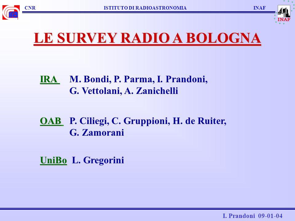LE SURVEY RADIO A BOLOGNA