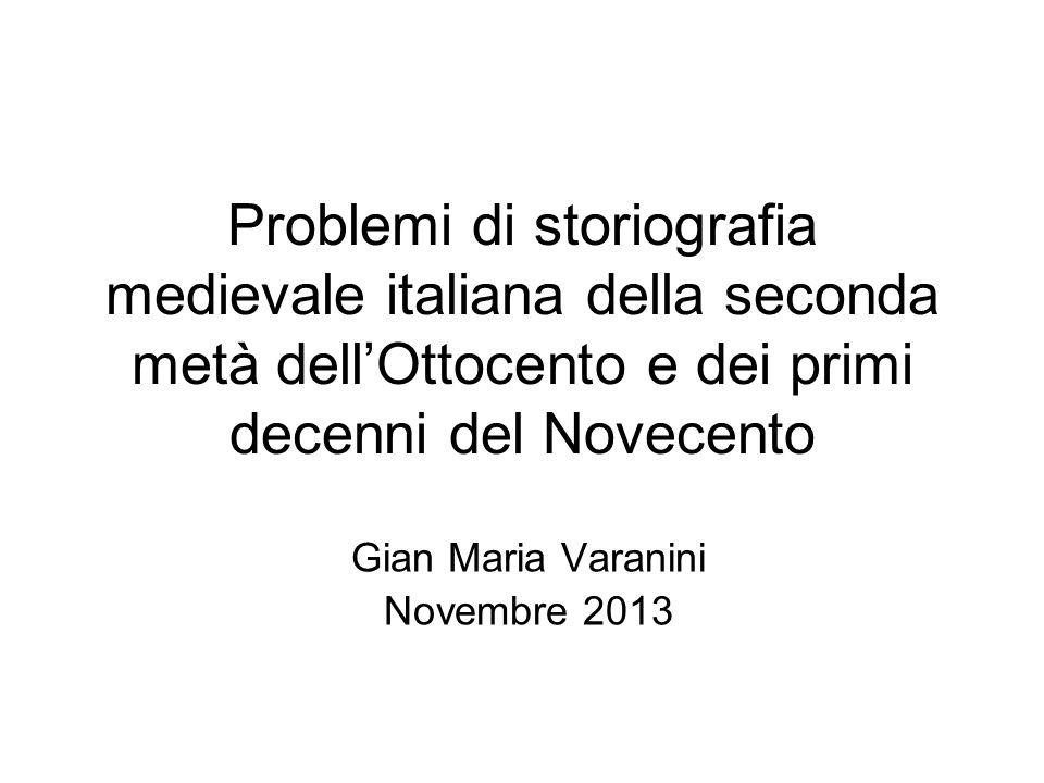 Gian Maria Varanini Novembre 2013