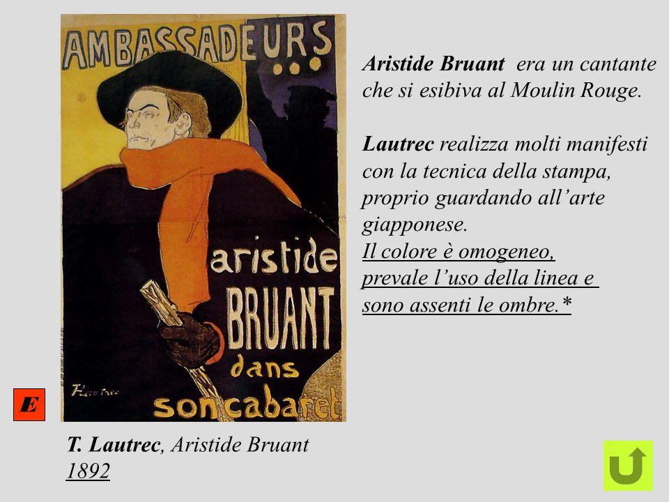 Aristide Bruant era un cantante