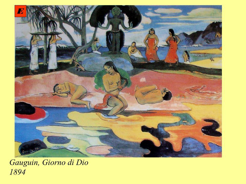 E Gauguin, Giorno di Dio 1894