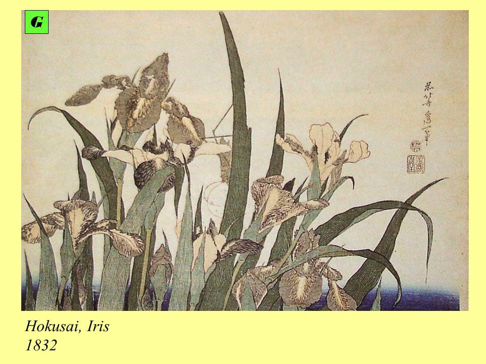 G Hokusai, Iris 1832