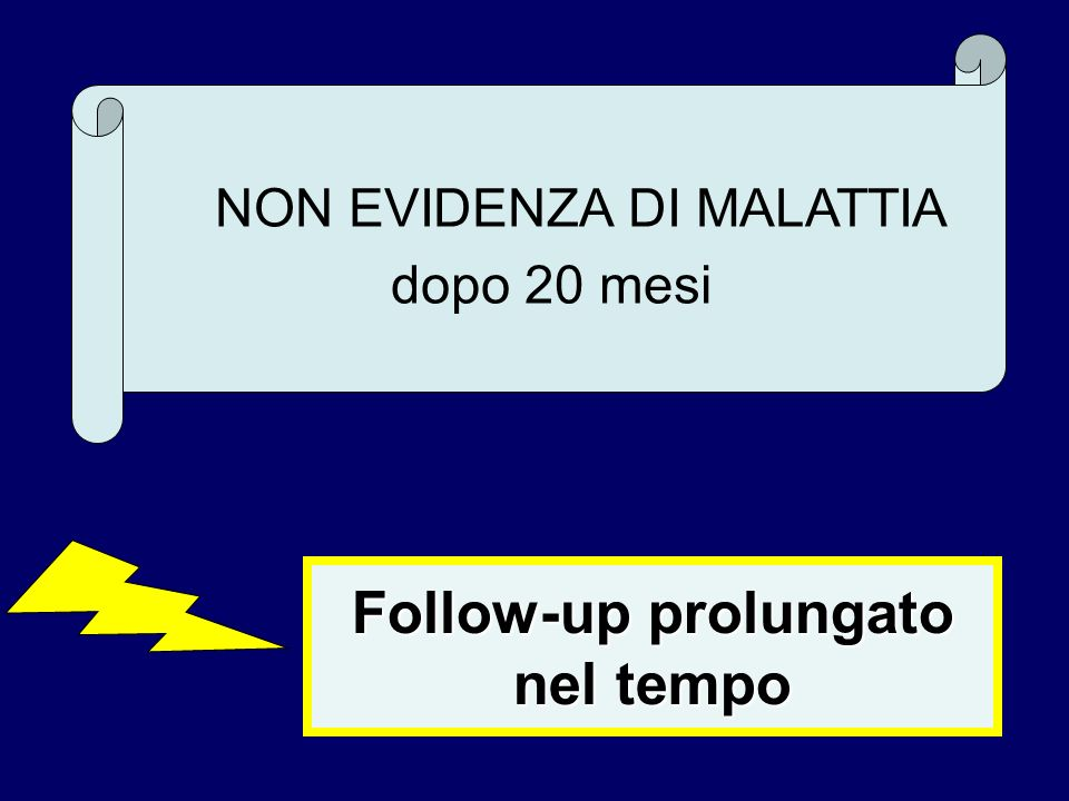 Follow-up prolungato nel tempo
