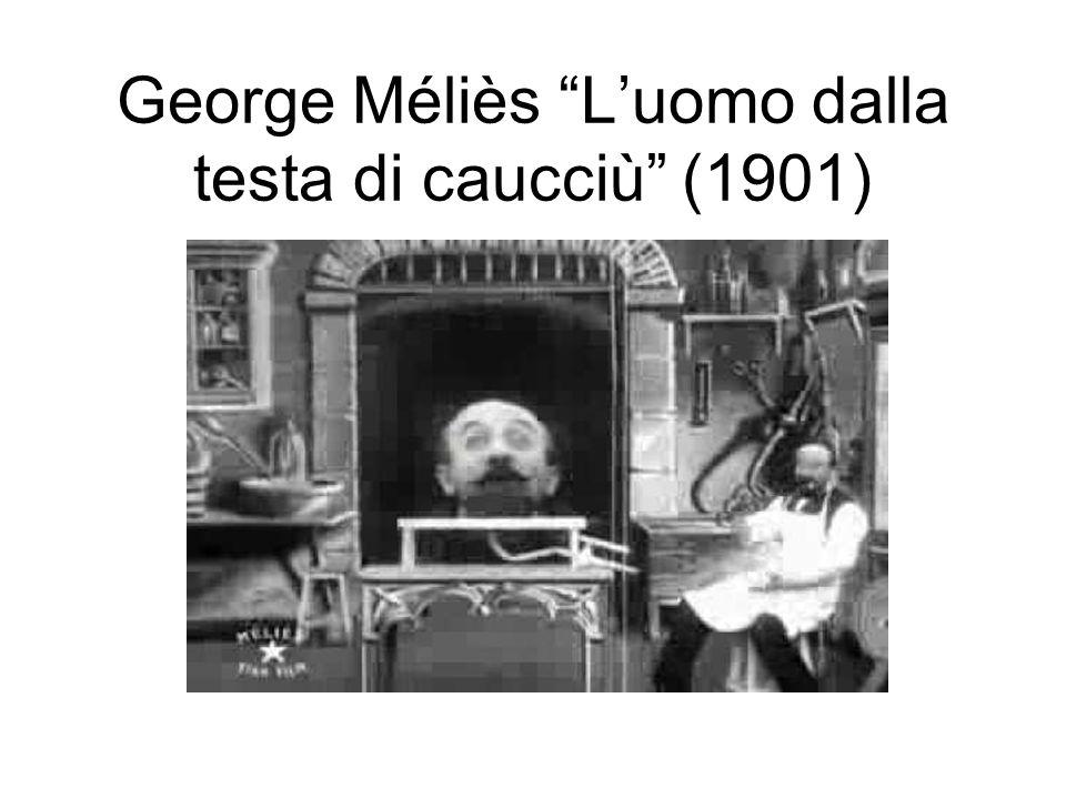 George Méliès L'uomo dalla testa di caucciù (1901)