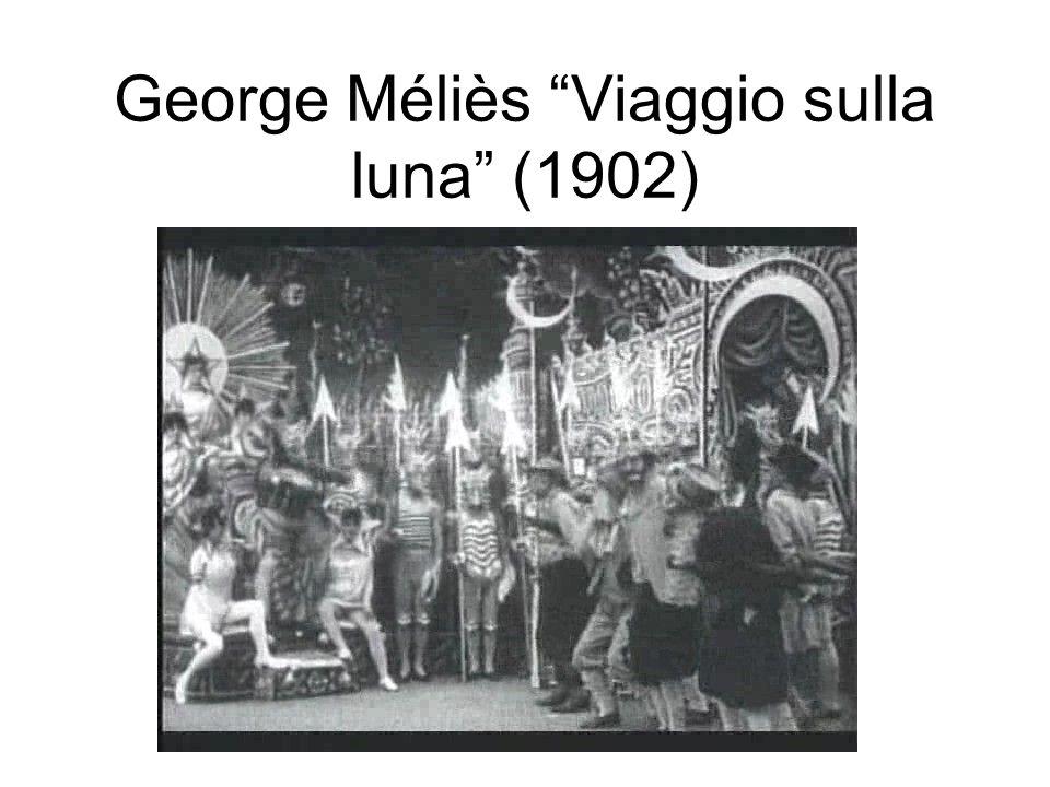 George Méliès Viaggio sulla luna (1902)