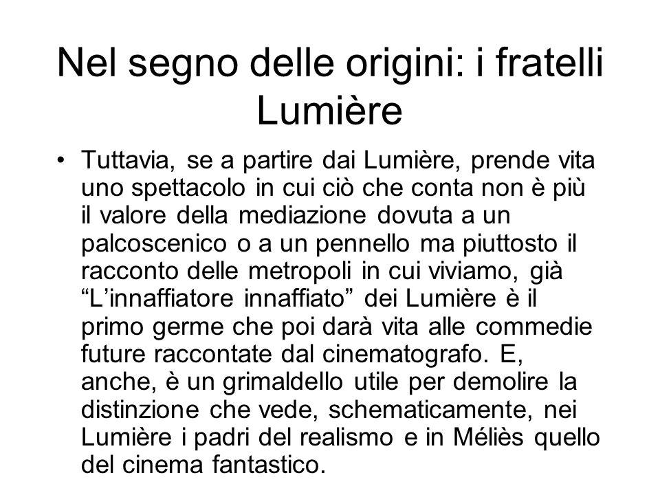 Nel segno delle origini: i fratelli Lumière