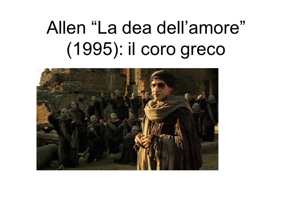 Allen La dea dell'amore (1995): il coro greco
