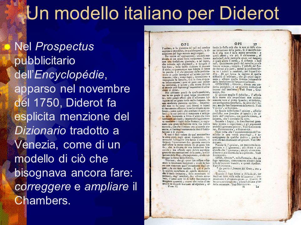 Un modello italiano per Diderot