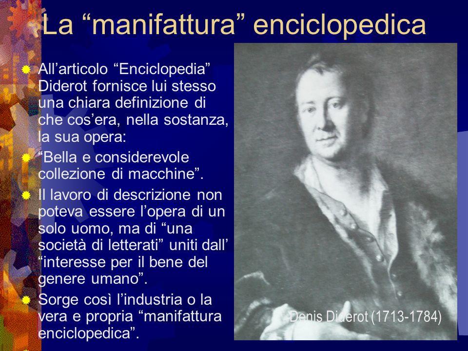 La manifattura enciclopedica