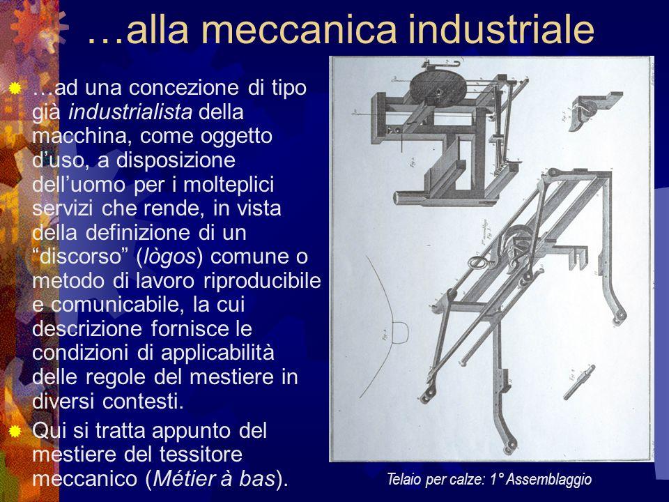 …alla meccanica industriale