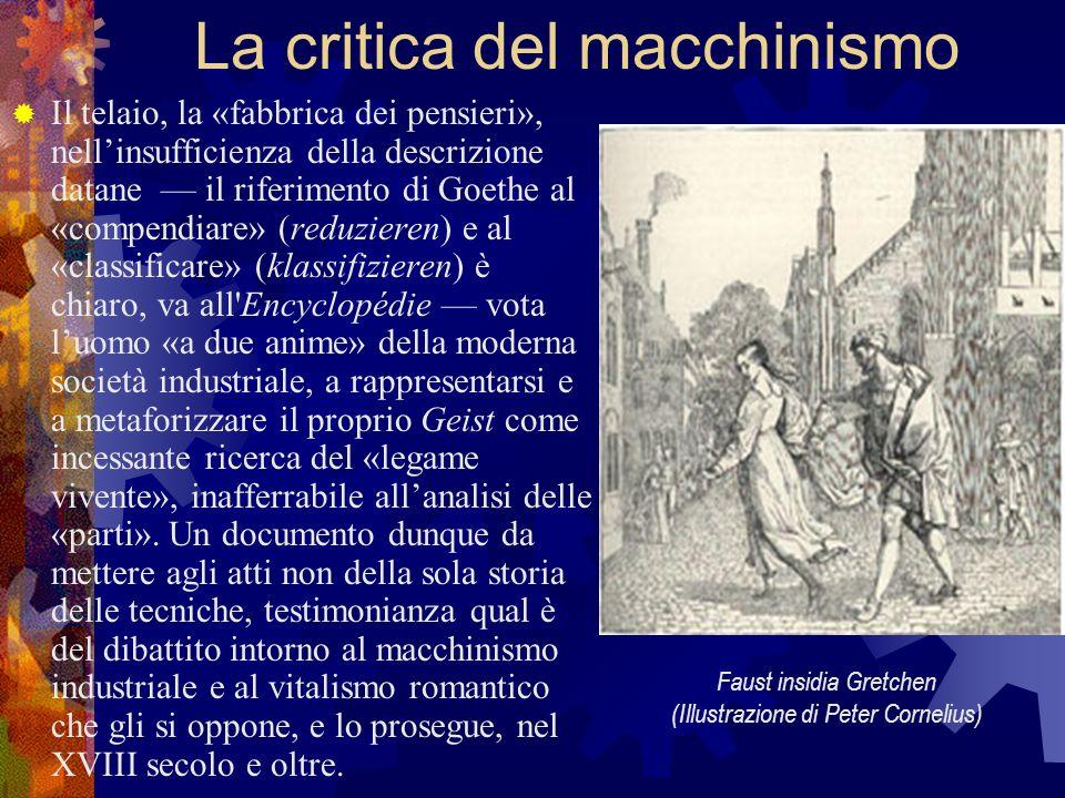 La critica del macchinismo