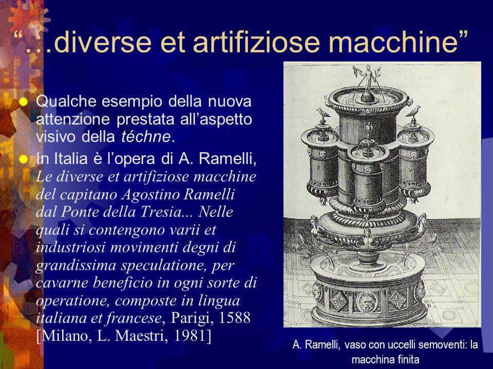 …diverse et artifiziose macchine