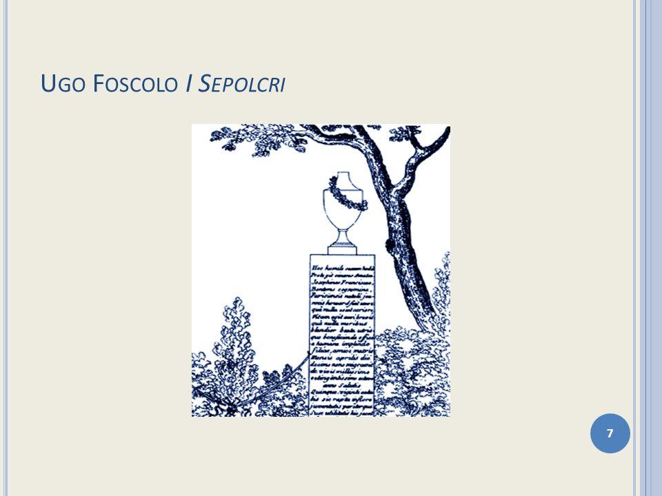 Ugo Foscolo I Sepolcri