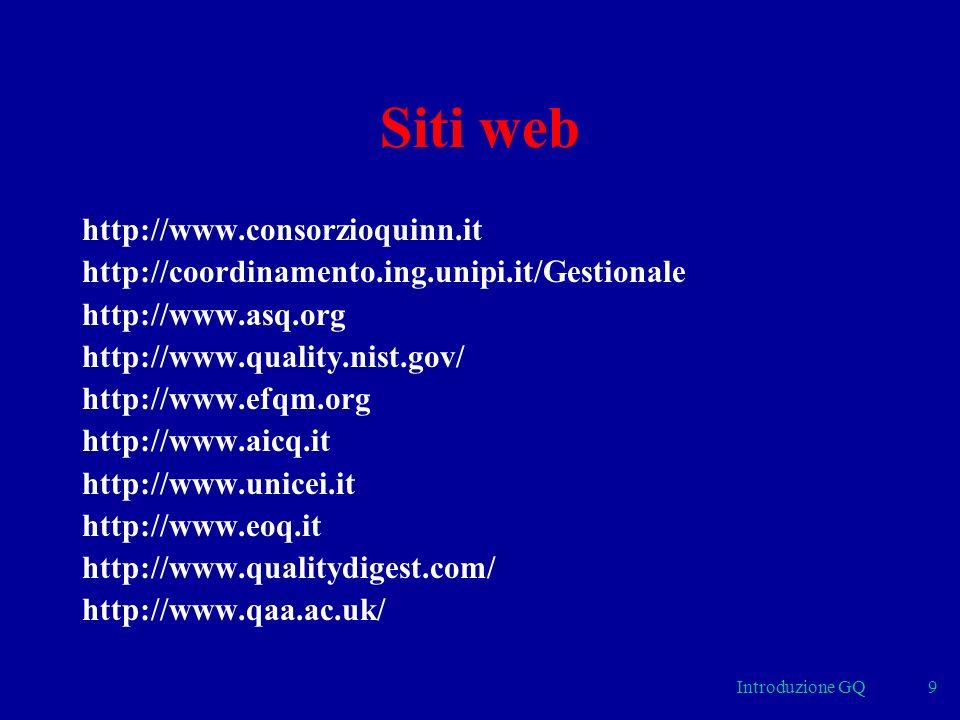 Siti web http://www.consorzioquinn.it
