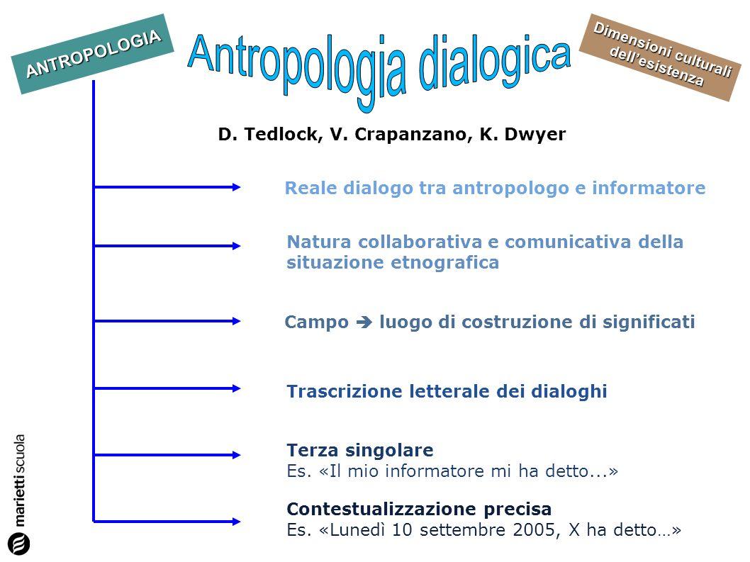 D. Tedlock, V. Crapanzano, K. Dwyer