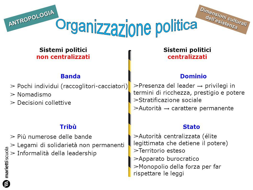Organizzazione politica
