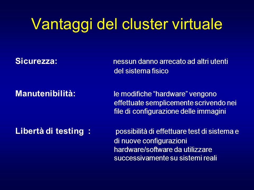 Vantaggi del cluster virtuale