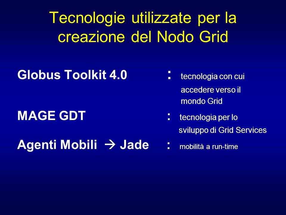 Tecnologie utilizzate per la creazione del Nodo Grid