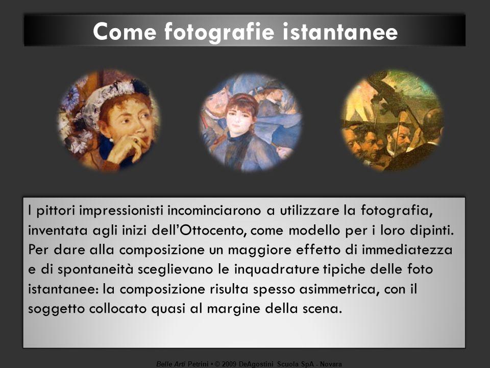 Come fotografie istantanee