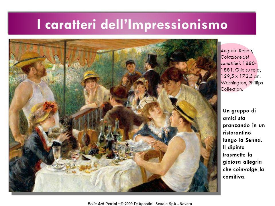 I caratteri dell'Impressionismo