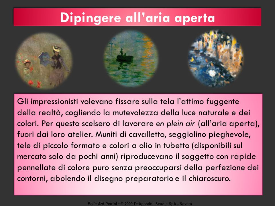 Dipingere all'aria aperta