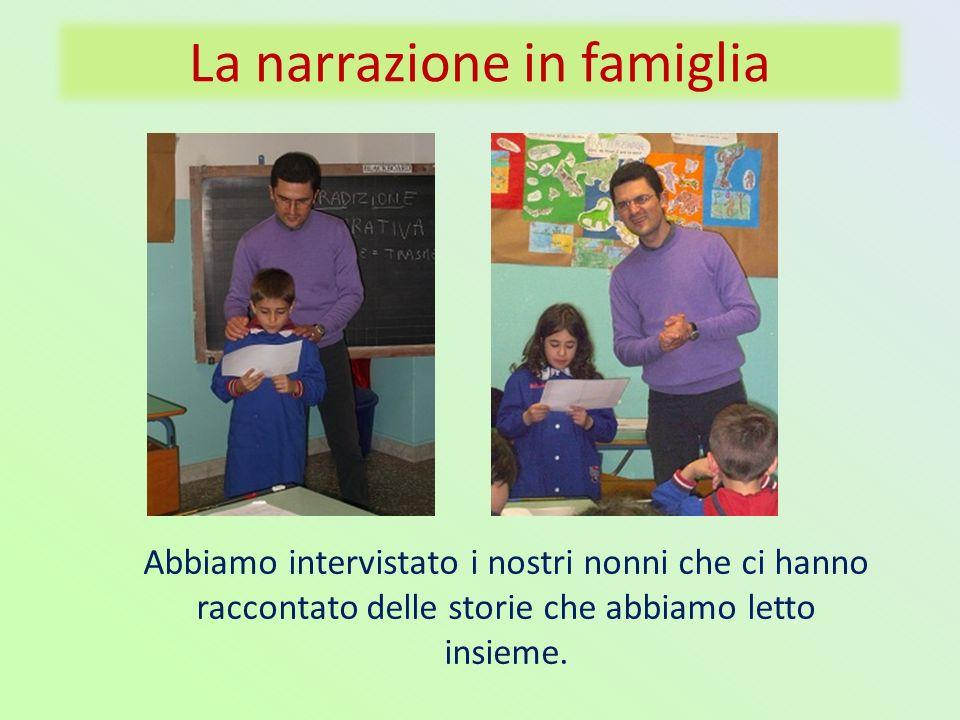 La narrazione in famiglia