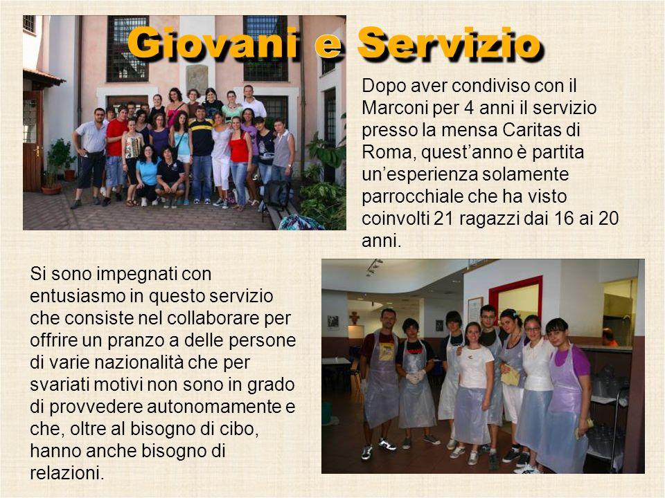 Giovani e Servizio
