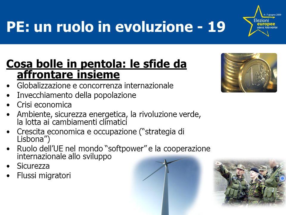 PE: un ruolo in evoluzione - 19