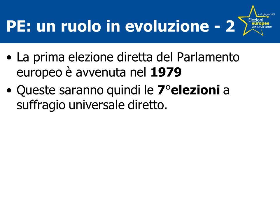 PE: un ruolo in evoluzione - 2
