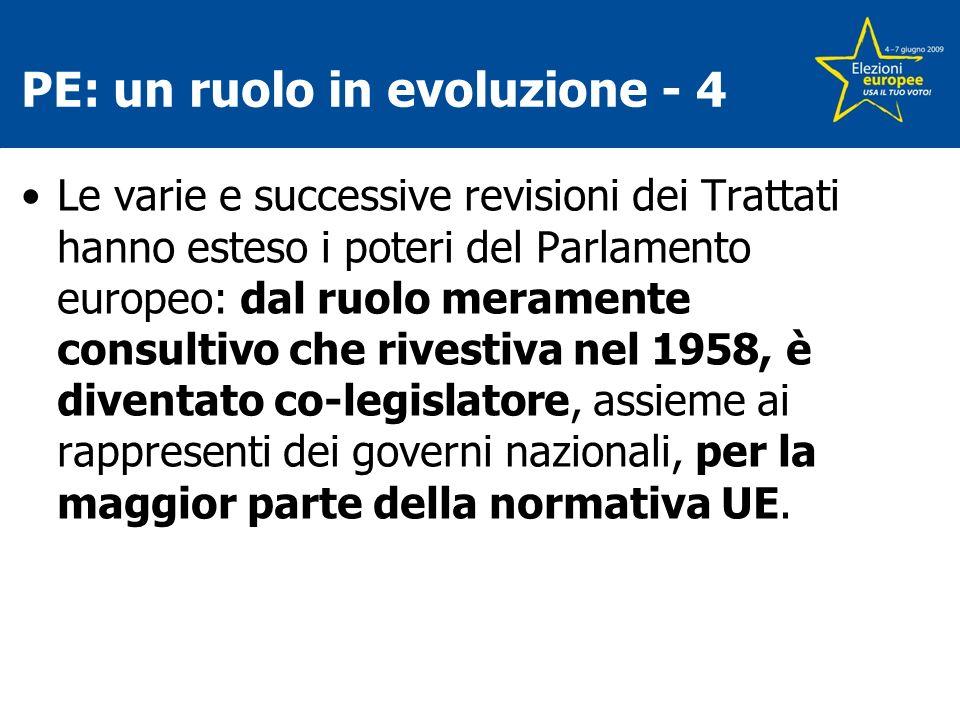 PE: un ruolo in evoluzione - 4