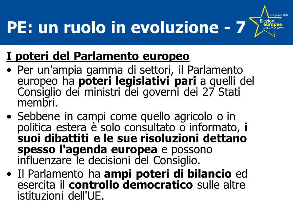 PE: un ruolo in evoluzione - 7