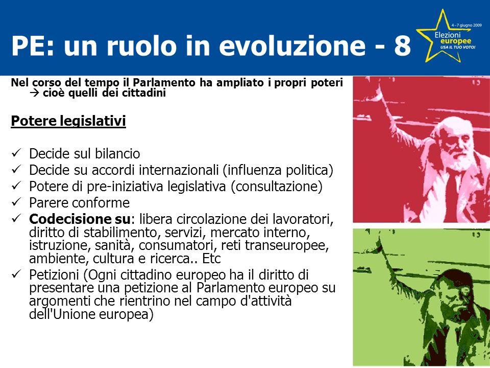 PE: un ruolo in evoluzione - 8