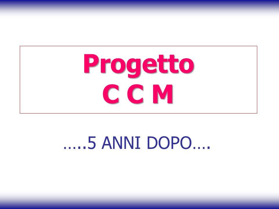 Progetto C C M …..5 ANNI DOPO….
