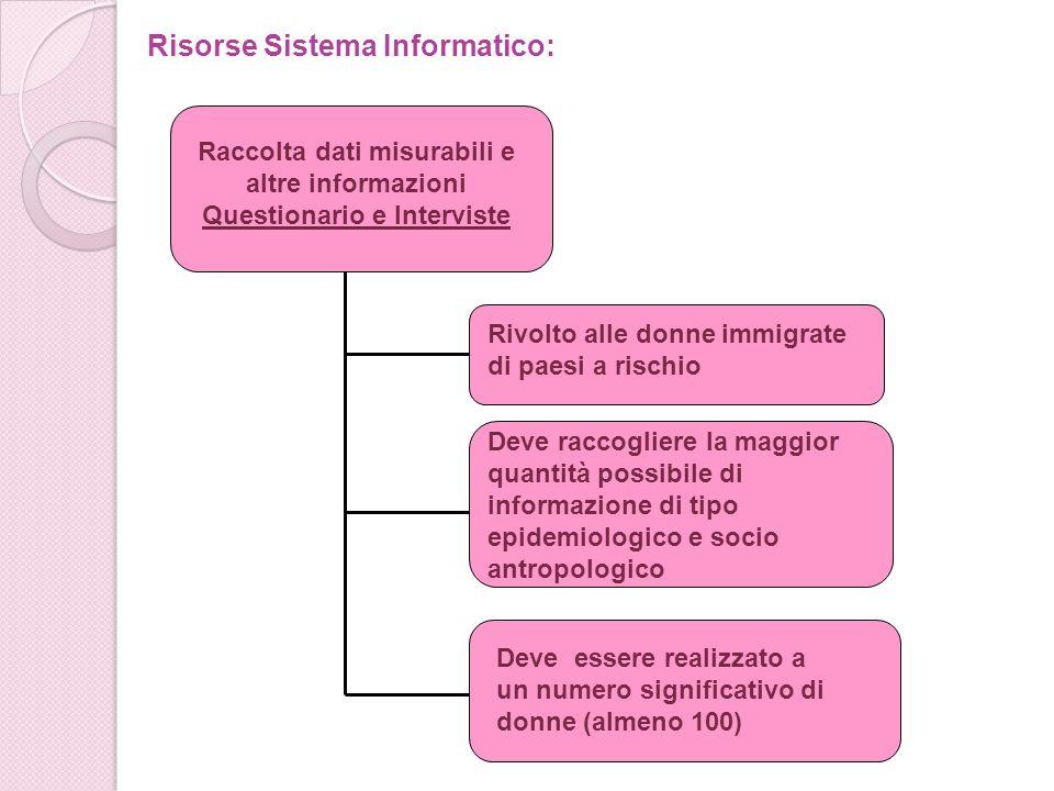 Risorse Sistema Informatico:
