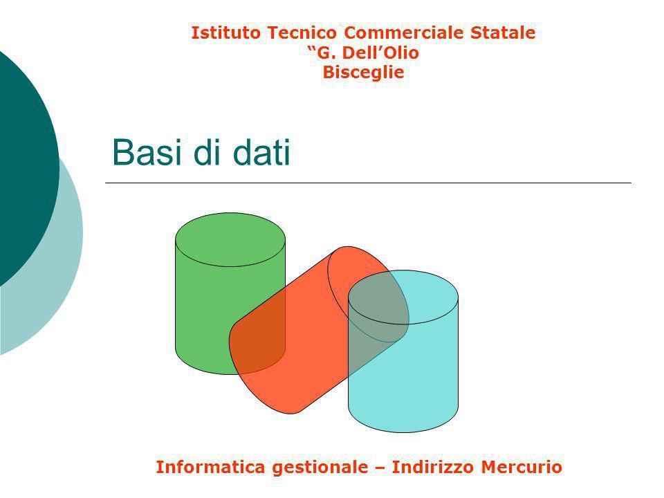 Istituto Tecnico Commerciale Statale G. Dell'Olio