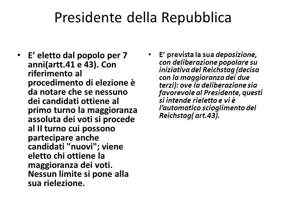 Presidente della Repubblica