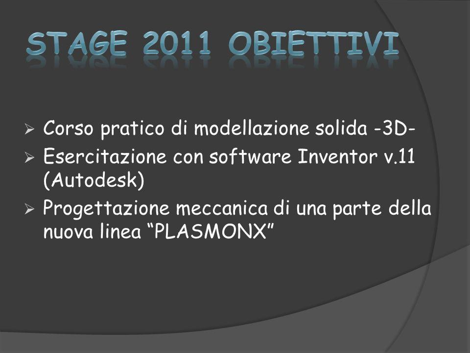 Stage estivo 2011 infn frascati meccanica ppt scaricare for Software di progettazione domestica personalizzato