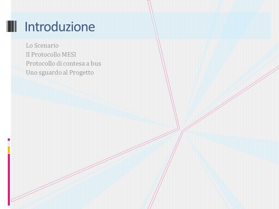 Introduzione Lo Scenario Il Protocollo MESI