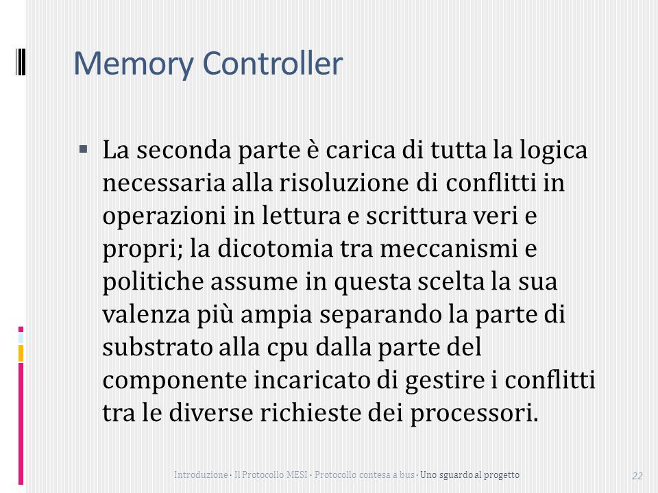 Memory Controller