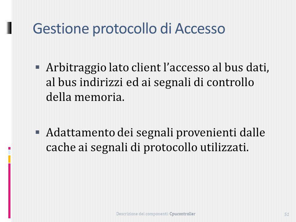 Gestione protocollo di Accesso