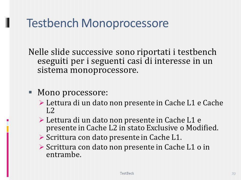 Testbench Monoprocessore
