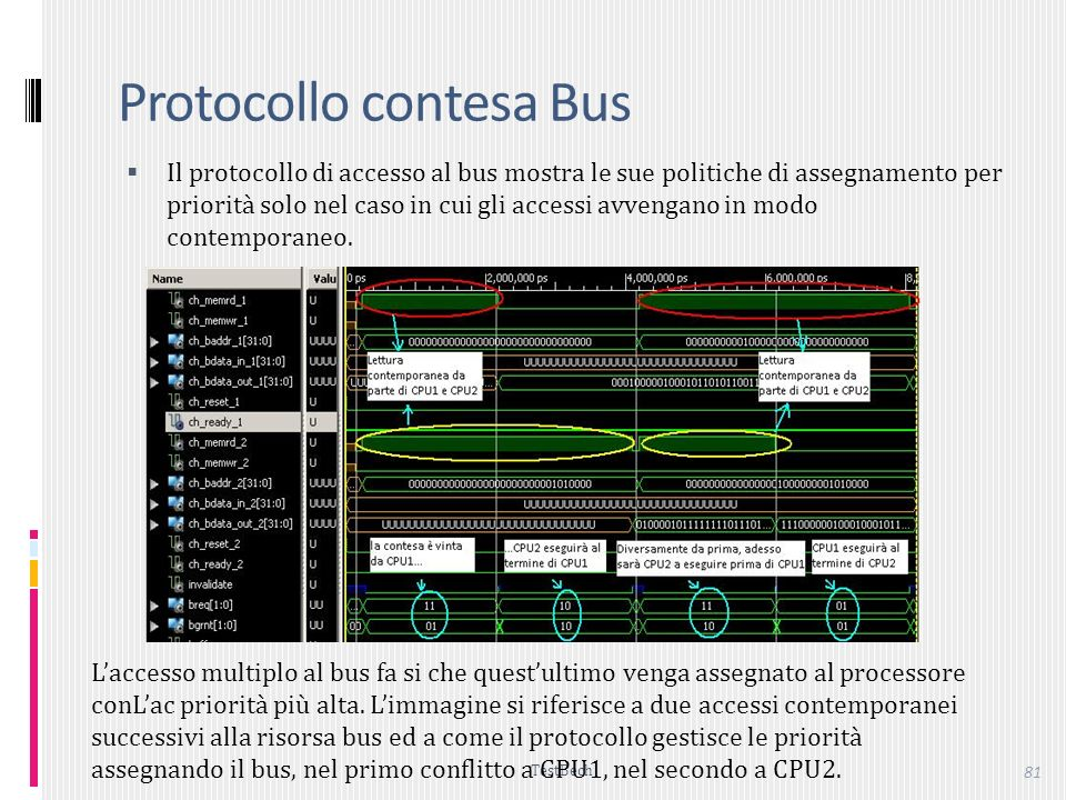 Protocollo contesa Bus