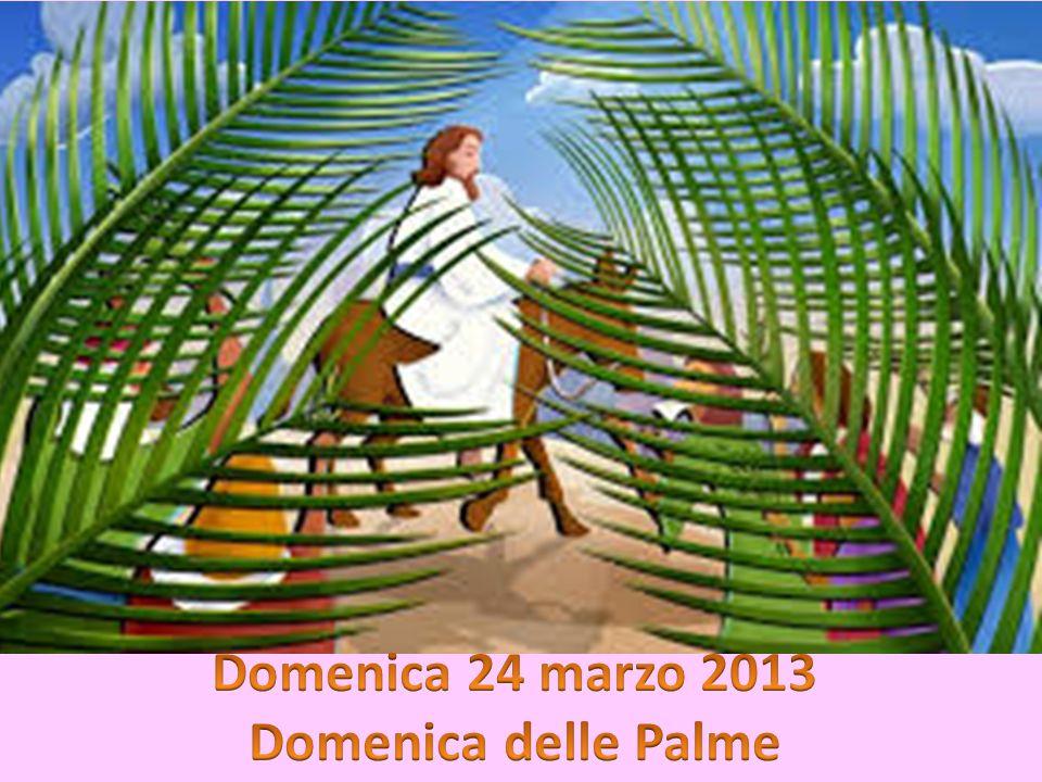 Domenica 24 marzo 2013 Domenica delle Palme