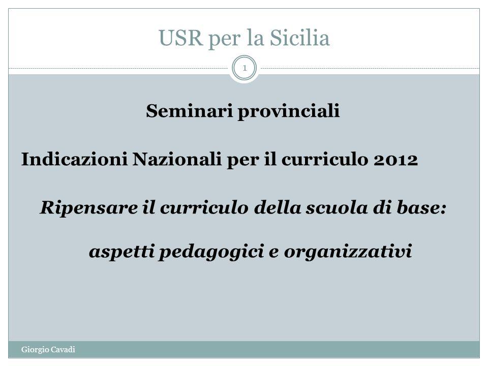 USR per la Sicilia