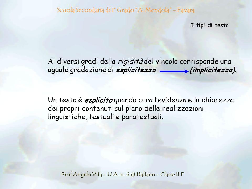 Scuola Secondaria di I° Grado A. Mendola - Favara