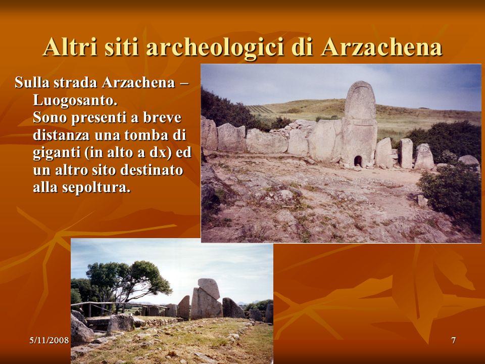 Altri siti archeologici di Arzachena